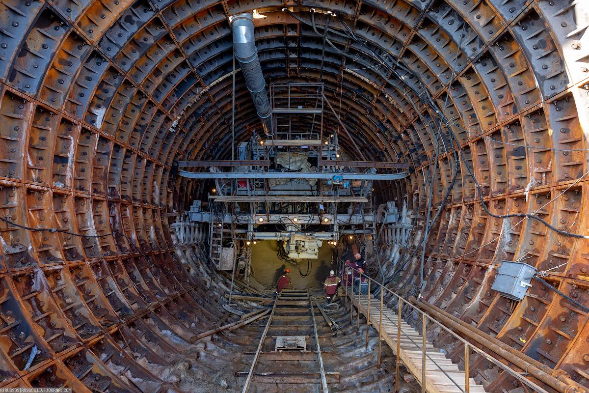 Обзор большой кольцевой линии будет, станции, работы, станцию, который, ствол, метро, Сейчас, около, находится, «Стромынка», метрополитена, здесь, «Рубцовская», Московского, проходку, помощью, сооружение, Также, сооружению