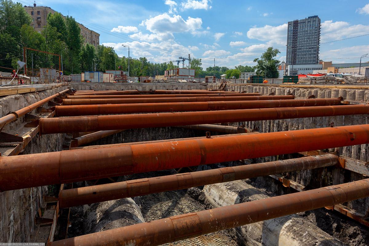 Станция «Рубцовская» Большого кольца