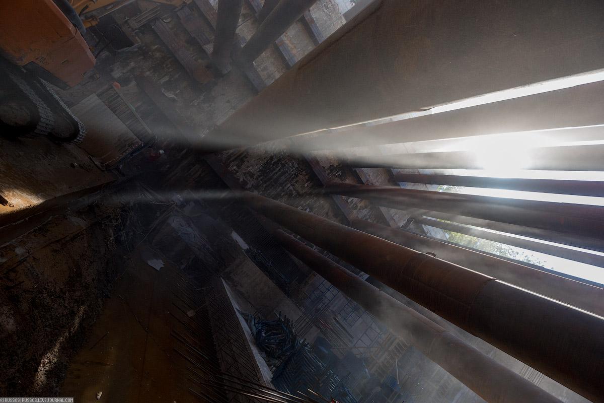 Любовь вернулась! правого, работы, кольцевой, Большой, станции, тоннеля, перегонного, машина, ведутся, «Авиамоторная», метров, тоннель, линии, «Лефортово», метро, Herrenknecht, специалисты, весьма, седьмой, построенный