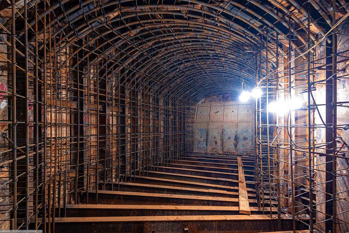 Большая Кольцевая — грандиозная стройка! станции, станцию, будет, диаметром, метров, будут, наклонного, сооружение, «Авиамоторная», метра, «Марьина, ствол, строительства, сооружения, Сооружение, ствола, Роща», путевой, стены, «Ржевская»