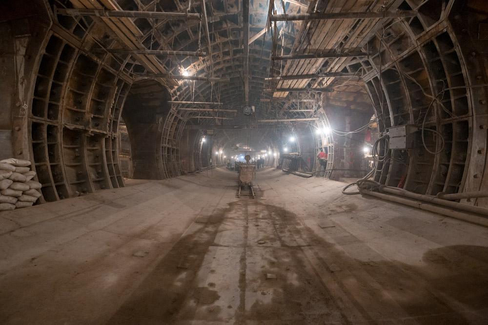 Станция «Нижняя Масловка» Большой Кольцевой Линии (БКЛ)