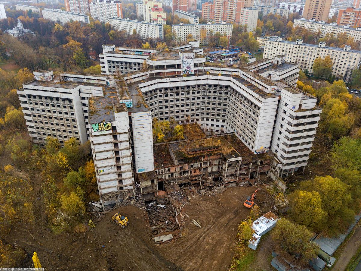 Прощай, Амбрелла! больницы, здания, Ховринской, Больница, строительства, проекту, порядка, окончательно, бюджета, городского, выполнена, зданий, больницу, метров, начали, корпус, начался, планируется, время, строительство