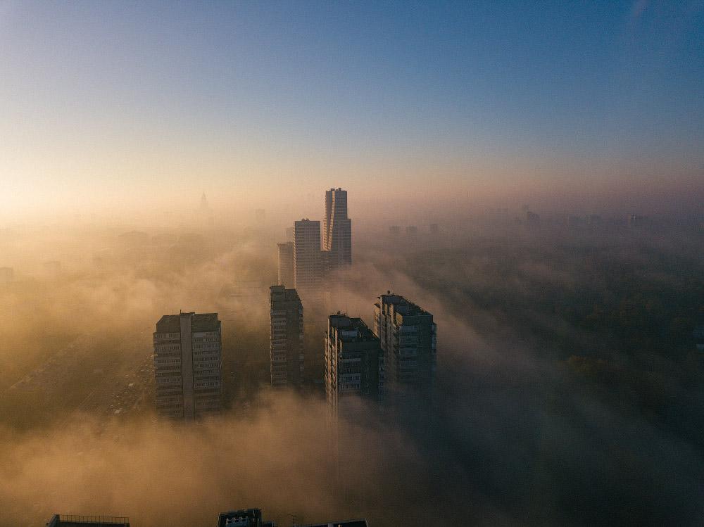Туман над Москвой