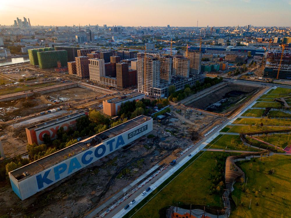 Парк «Тюфелева роща» или как москвичи зажрались!