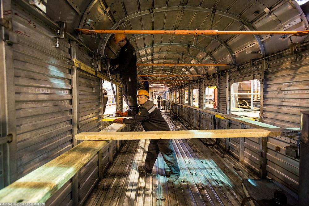 Как делают вагоны для РЖД