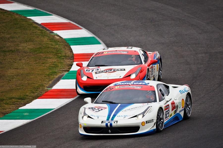 это не только Ferrari Challenge