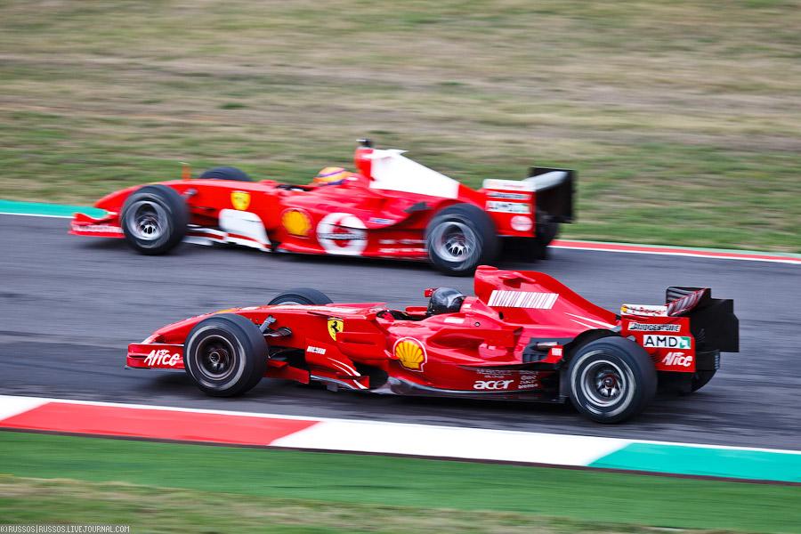 команды Scuderia Ferrari в гонках «Формула-1»