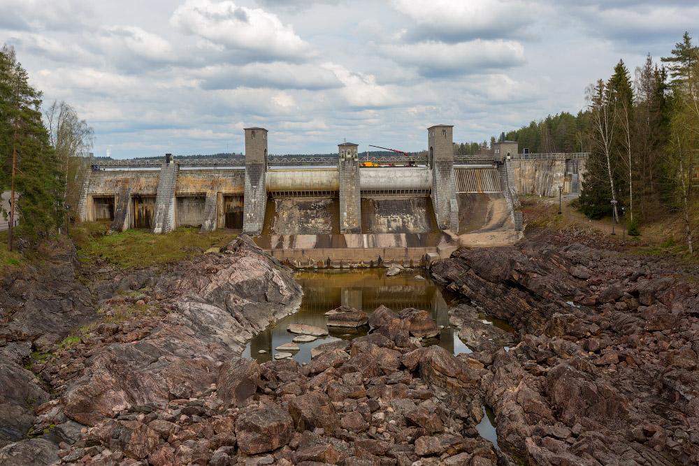 Финляндия | ГЭС Иматра