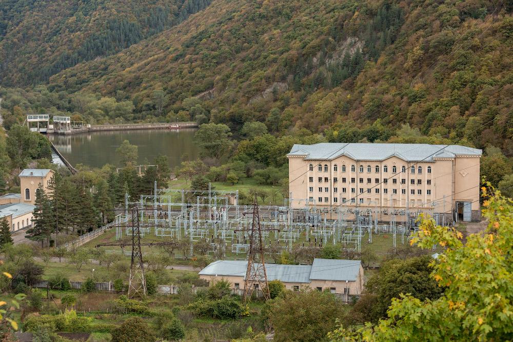 Интер РАО   Храми ГЭС-1 в Грузии