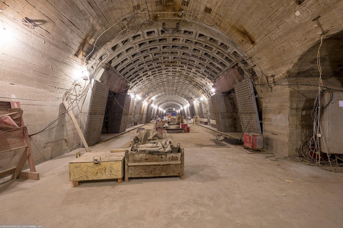 Станция метро проспект славы фото строительства