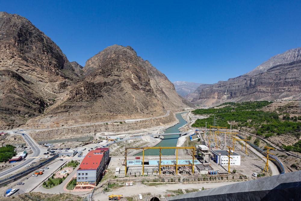 Дагестан | Ирганайская ГЭС