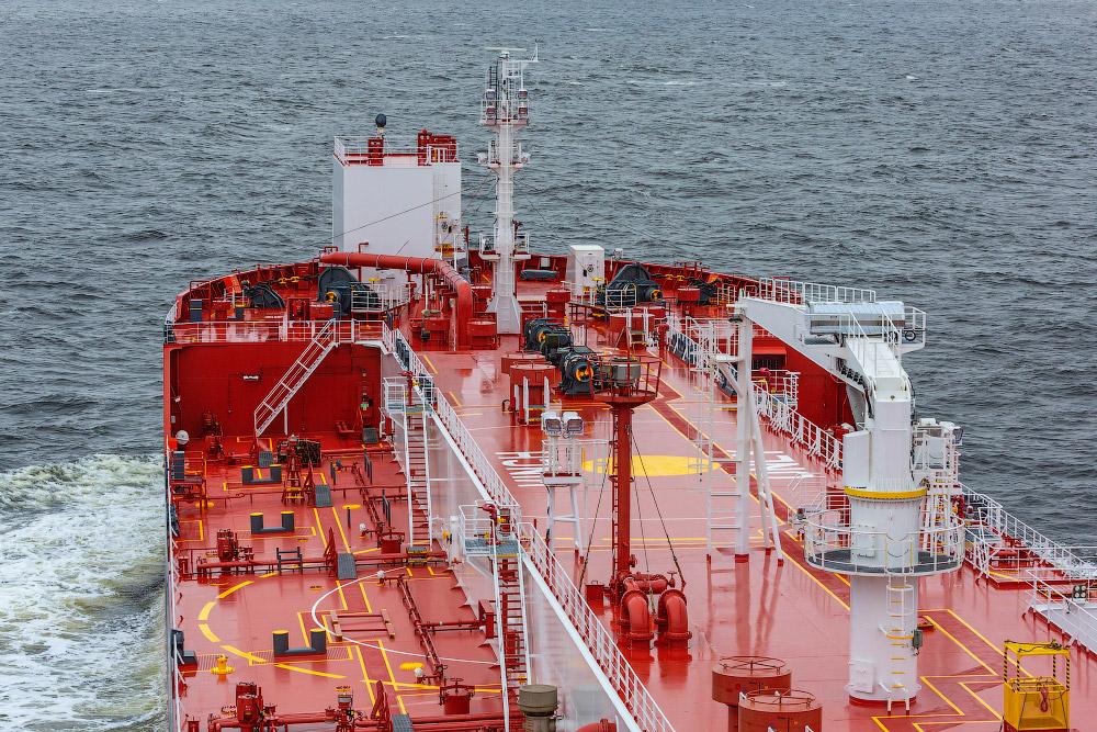 Арктический танкер «Штурман Скуратов»
